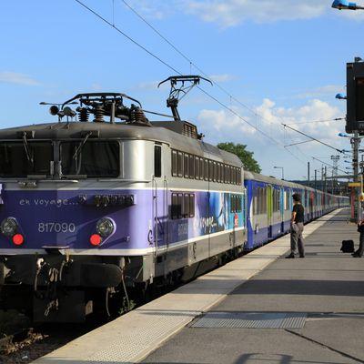 Le matériel roulant de SNCF Transilien : les RIB / RIO et locomotives