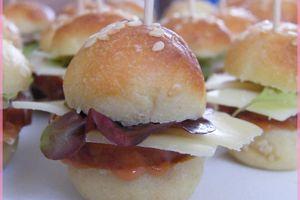 Mini burgers franc-comtois