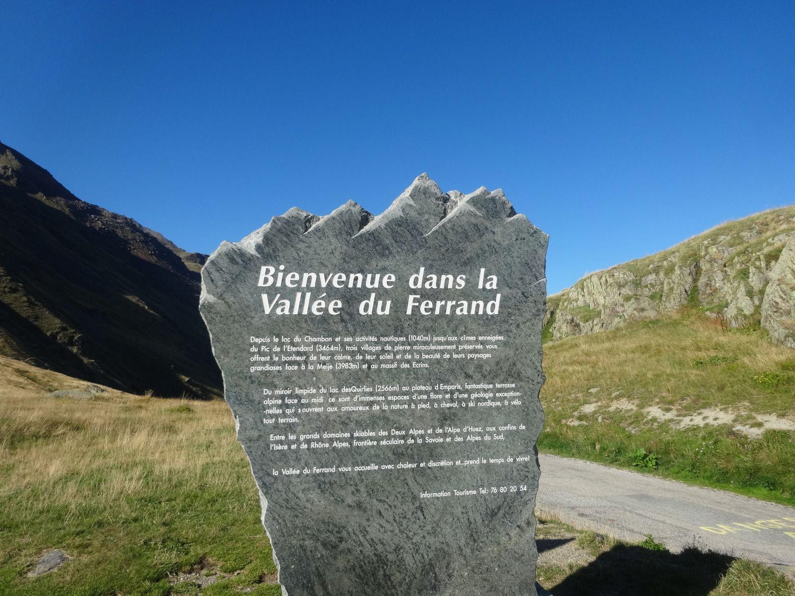 La vallée du Ferrand en Oisans