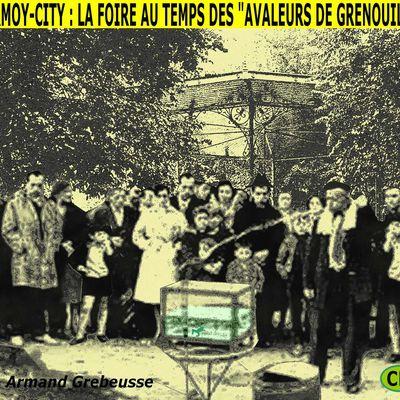 CHARMOY-CITY : LA FOIRE AU BON VIEUX TEMPS DES AVALEURS DE GRENOUILLES - du 26 octobre 2020 (J+4331 après le vote négatif fondateur)