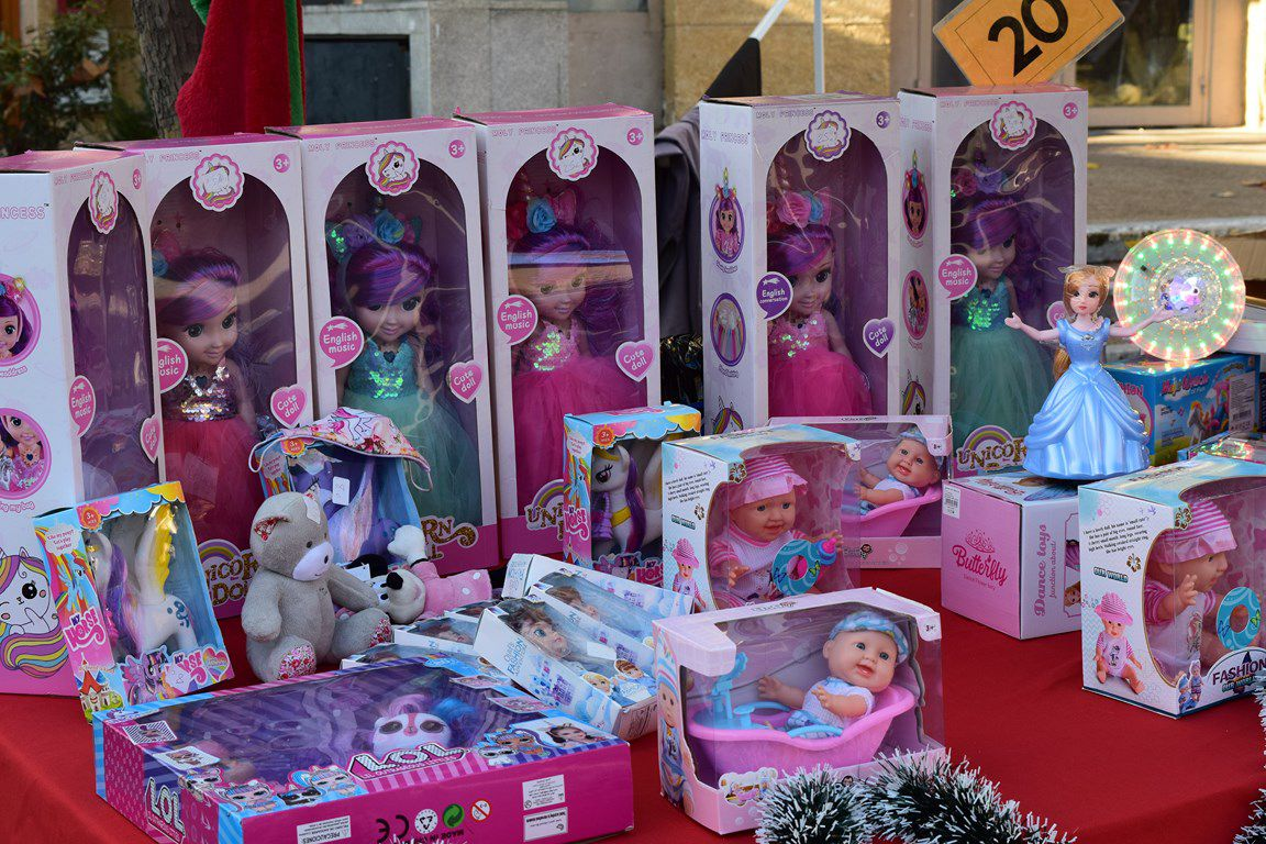 Petit marché de Noël pour préparer les fêtes