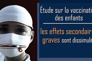 KLA.tv | Étude sur la vaccination des enfants • De graves effets secondaires sont occultés