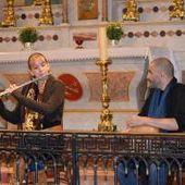L'église a accueilli le duo Escales