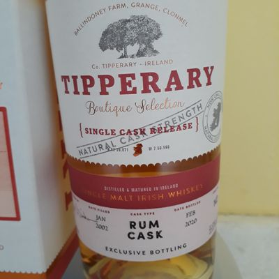 Tipperary Boutique Selection - Rum Cask