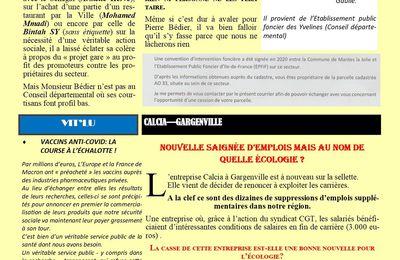 VACCINS ANTI-COVID: LA COURSE À L'ÉCHALOTTE !