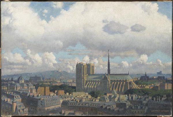 André Suarès - Notre Dame de Paris (en peinture et en écriture)