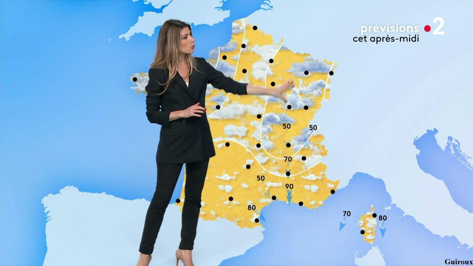 Chloé Nabédian 07/10/2021 Journaux météo du midi