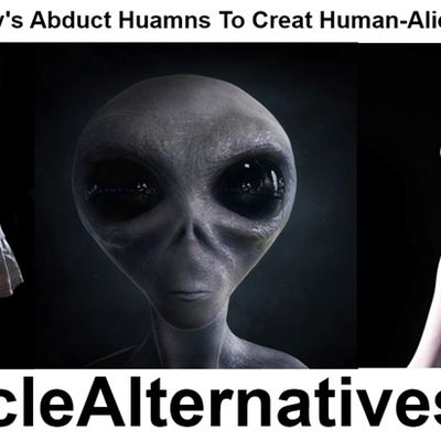 Alien-Human Hybrids Stroll Among United States! 10 Identification Features!