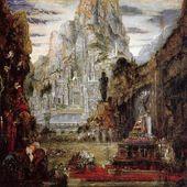 Gustave Moreau - Le triomphe d'Alexandre le Grand - LANKAART