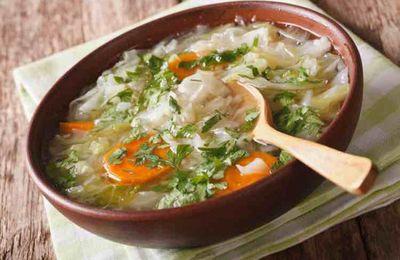Regime a base de soupe