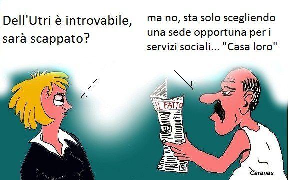 Dell'Utri e Berlusconi accomunati da un inesorabile destino
