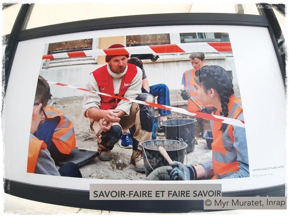 Rennes ; Exposition Report'Images #3 dans le métro