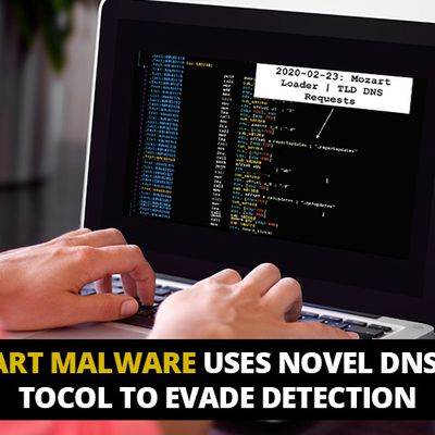 The novel DNS protocol helps Mozart Malware evade detection