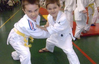 1ère compet de judo