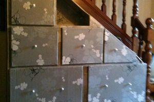 Création stagiaire : meuble sous escalier