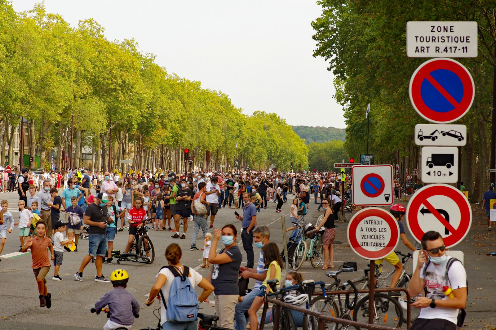 Tour de France à Versailles