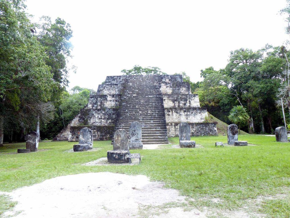 Crooked Tree (Belize) Tikal (Guatemala)