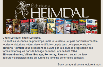 Editions Heimdal : suggestions de lecture...