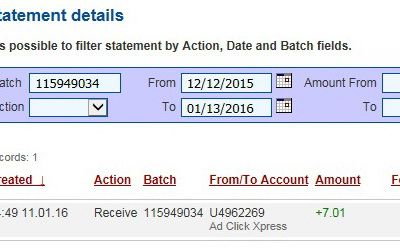 Withdraw from AdClickXpress!!! !!!