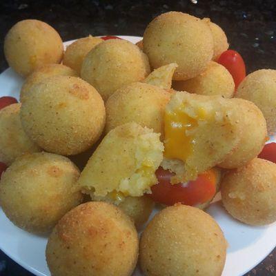 Croquettes de Pomme de terre au fromage Cheddar