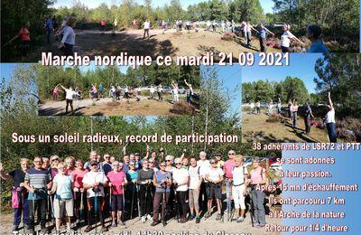 Marche nordique 21 09 2021