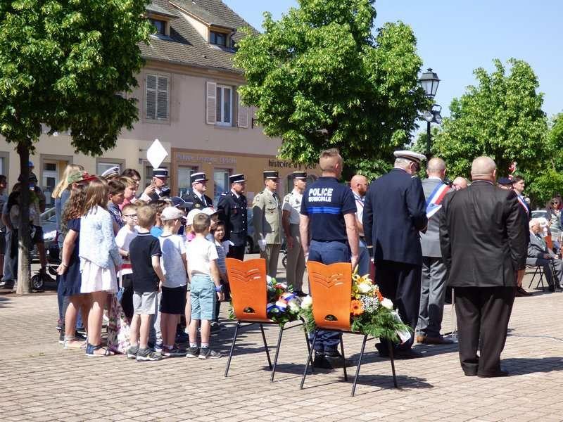 Cérémonie Commémorative du 8 Mai 1945 à Neuf-Brisach
