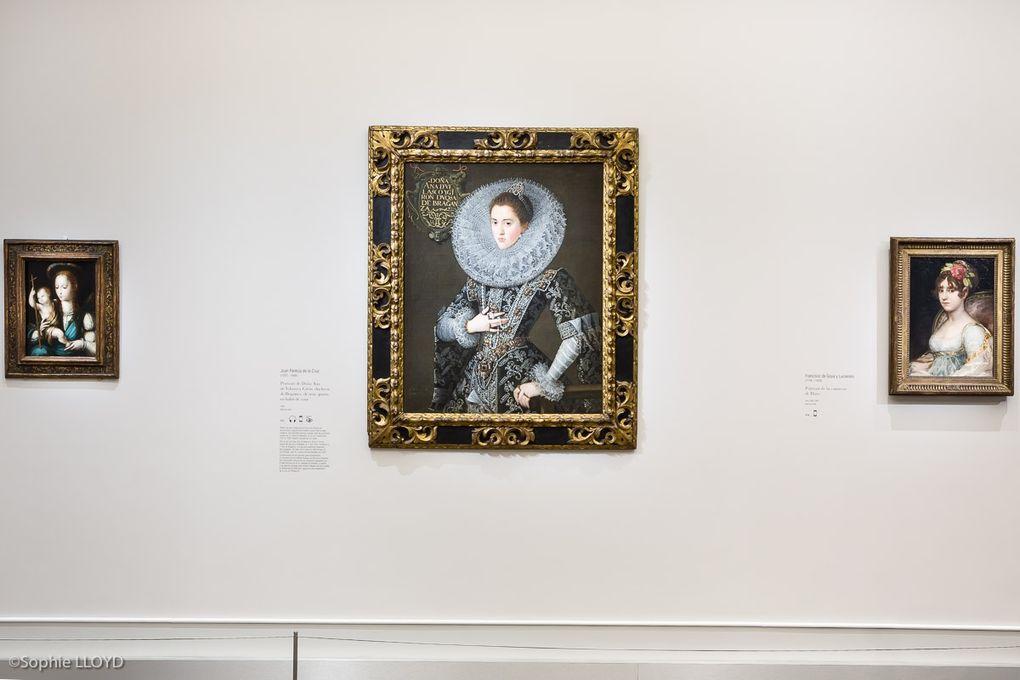 Salle 1 : Goya, Zurbaran, de la Cruz et vue générale avec Luis Morales