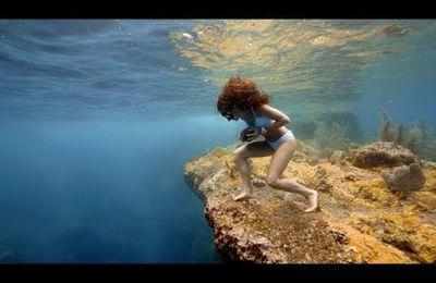 Courir au fond de l'eau