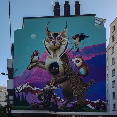 Grenoble Street Art Fest 2019
