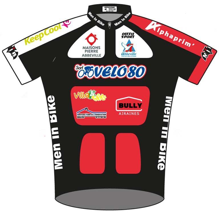 Invitation : Black Friday chez Vélo 80 le 31 mars pour la remise officielle des nouveaux maillots.