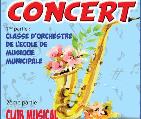 EN ATTENDANT LA FÊTE DE LA MUSIQUE...ALLEZ AU CONCERT DE PRINTEMPS DU CLUB MUSICAL BERCKOIS...