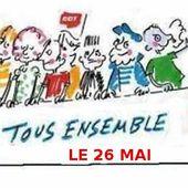 A une large majorité le Parlement de la CGT a décidé de participer à la marée humaine du 26 mai prochain - Front Syndical de Classe