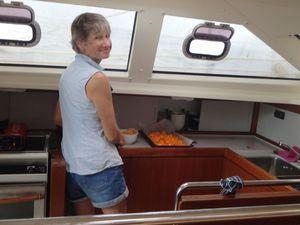 Cuisine en mer, cuisine à terre