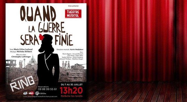 'Quand la guerre sera finie', le musical de Marie-Céline Lachaud