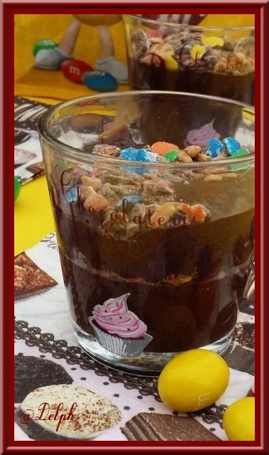 Mousse croustillante aux M&M'S