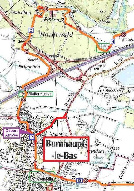 Agrandissement autour de Burnhaupt-le-Bas.
