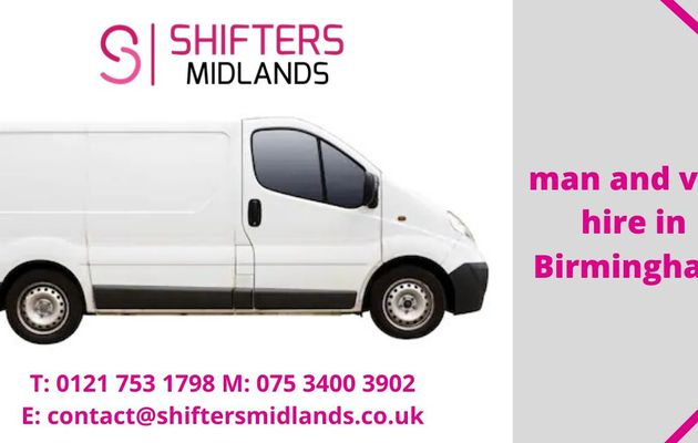 Man and Van Hire Birmingham – Shifters Midlands
