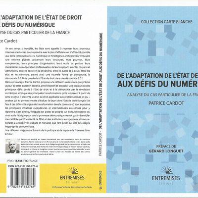 Mieux adapter le droit aux défis posés à l'Etat de droit par le numérique  – Analyse du cas particulier de la France, par Patrice Cardot