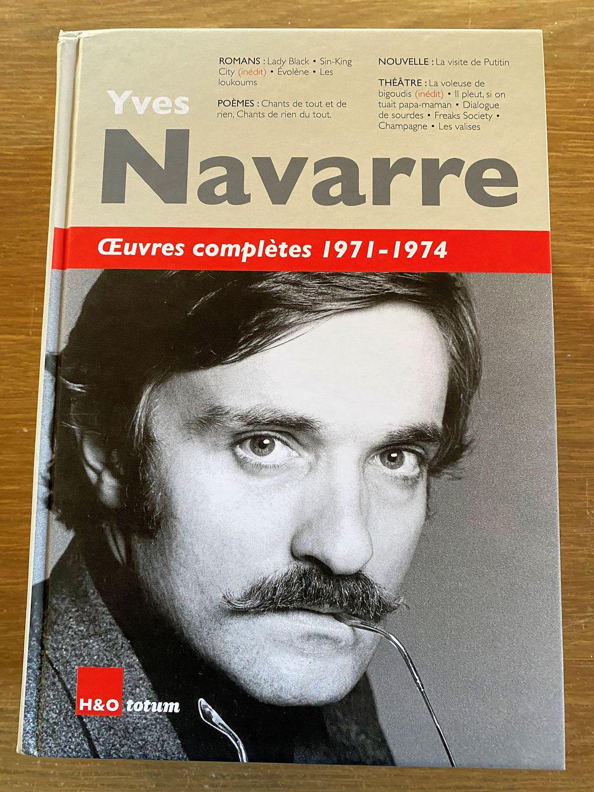 Yves Navarre (1940–1994)