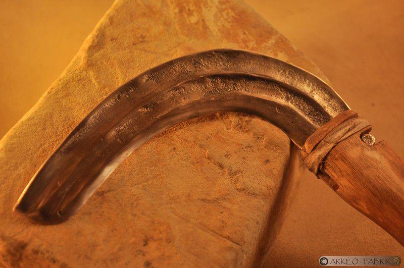 Faucille de l'Âge du Bronze.