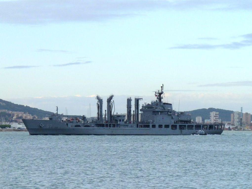 CHUNJI 57 , Petrolier Ravitailleur de la marine Sud Coréenne