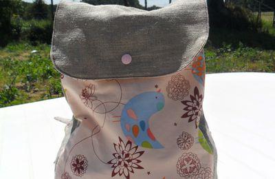 sac à dos oiseaux
