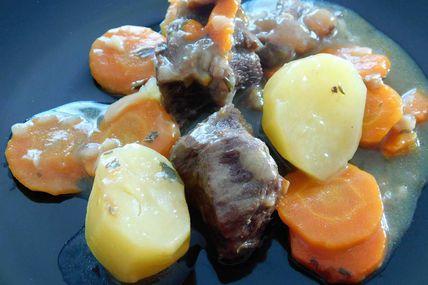 Bœuf aux carottes au Cookéo