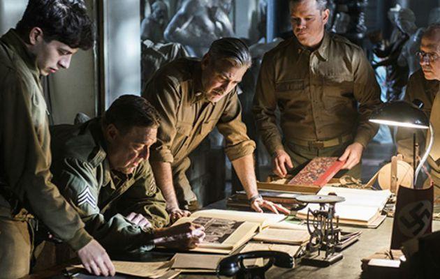 Monuments Men de George Clooney (2014)