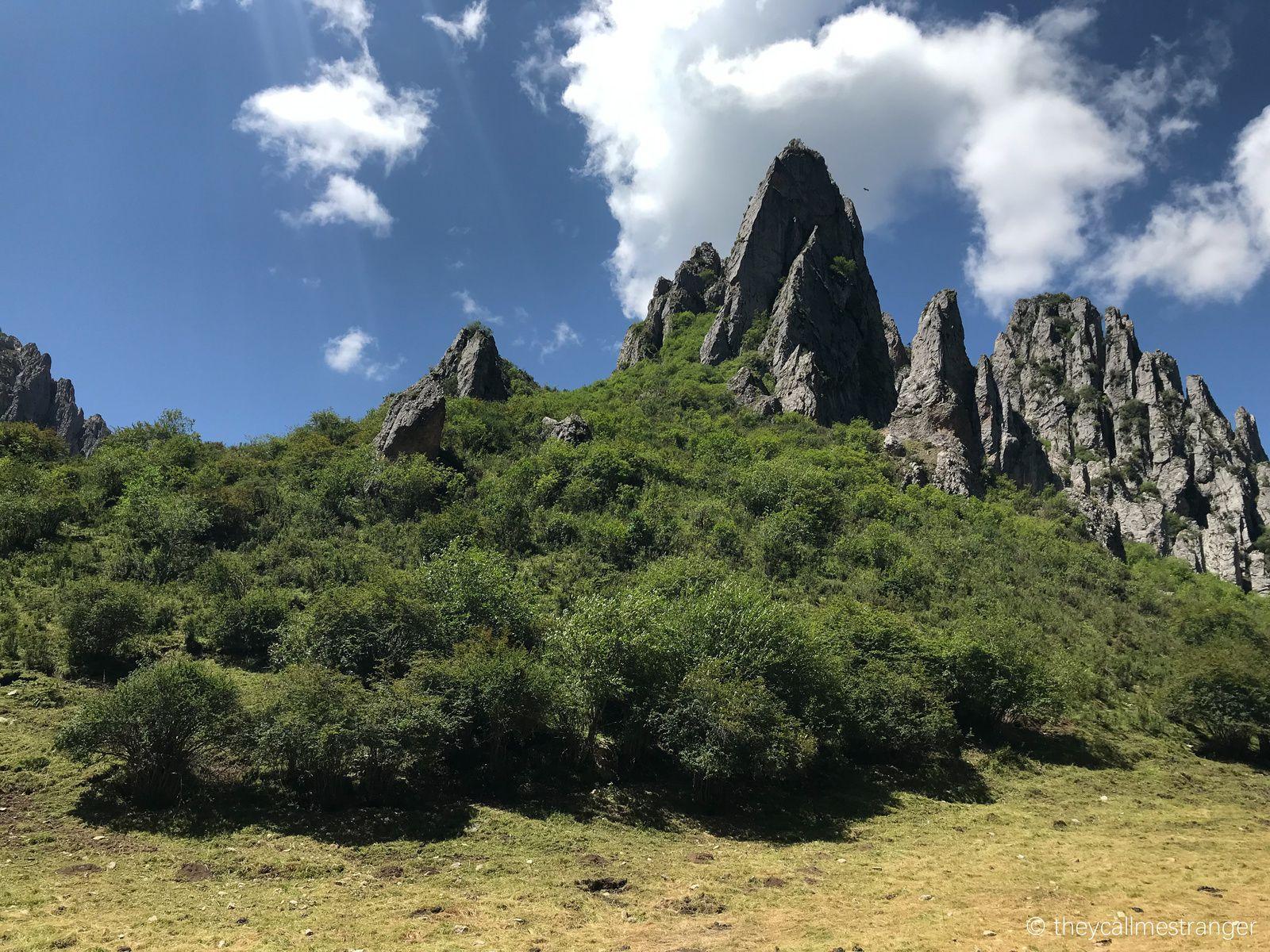 Randonnée dans les Gorges de Namo 纳摩峡谷, Langmusi 郎木寺