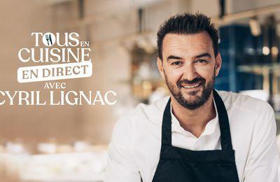 """""""Tous en cuisine en direct avec Cyril Lignac"""" sur M6 : Les ingrédients de ce vendredi 15 janvier (Koulibiac de saumon, beurre blanc)"""