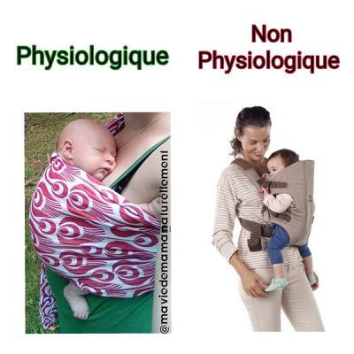 Pourquoi porter son bébé de façon physiologique ?