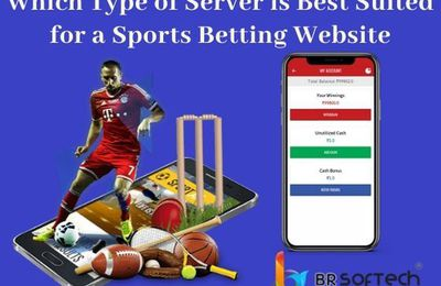 Which type of server is best suited for a sports betting website
