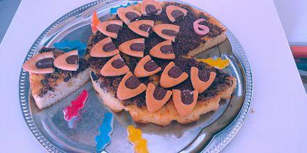 Gâteau poisson anniversaire enfant facile Thermomix ou sans !