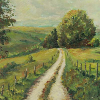 """"""" Je te salue mon arbre..."""" ( poèmes de Régis Roux d'après une peinture de Chantal Roux)"""